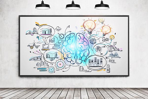 Explainer Video Brainstorming Concept Diagram
