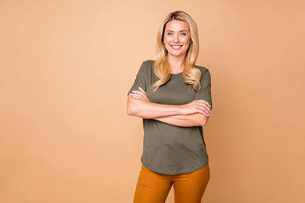 Female Business Leader Recording Expert Videos