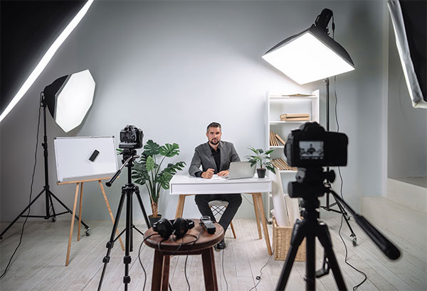 Business Owner Recording Training Video