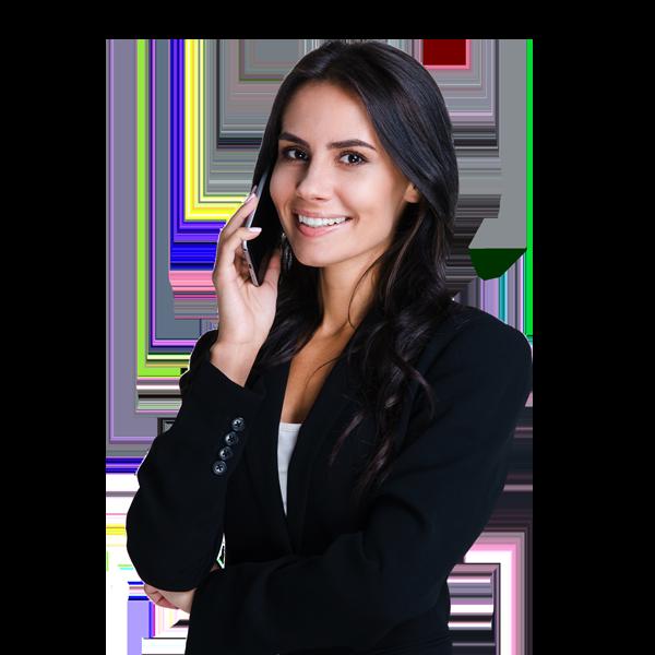 Female Executive Contacting Company