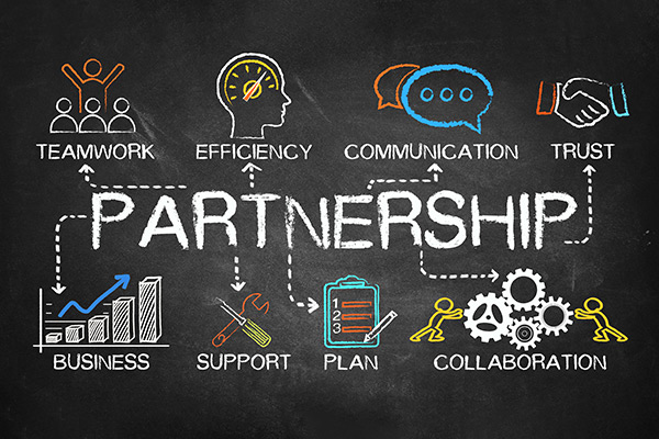 White Label Video Partnership Diagram